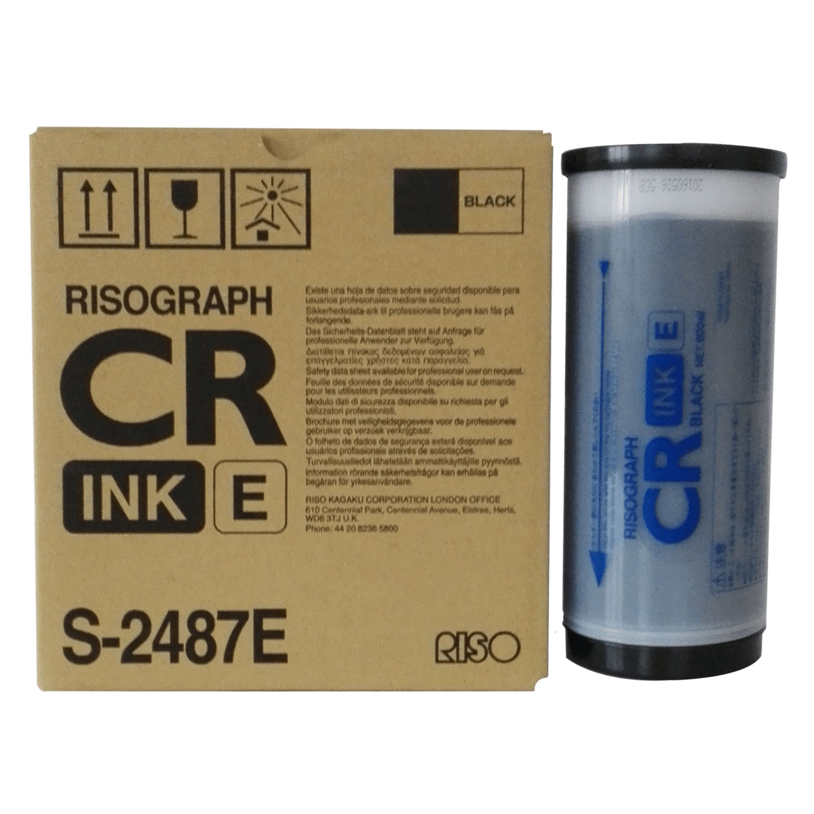 Risograph CR - Ink E - S-2487E