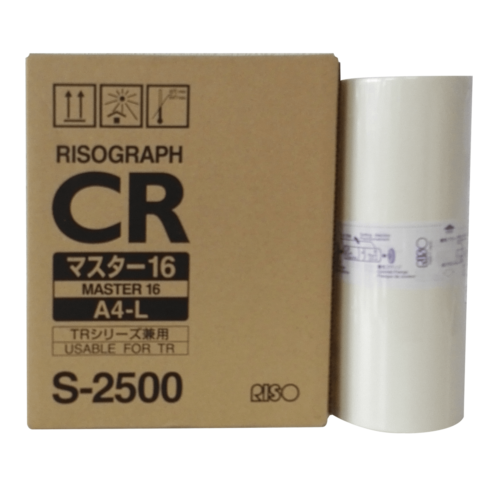 Risograph CR - Master 16 - A4-L - S-2500 (usable for TR)
